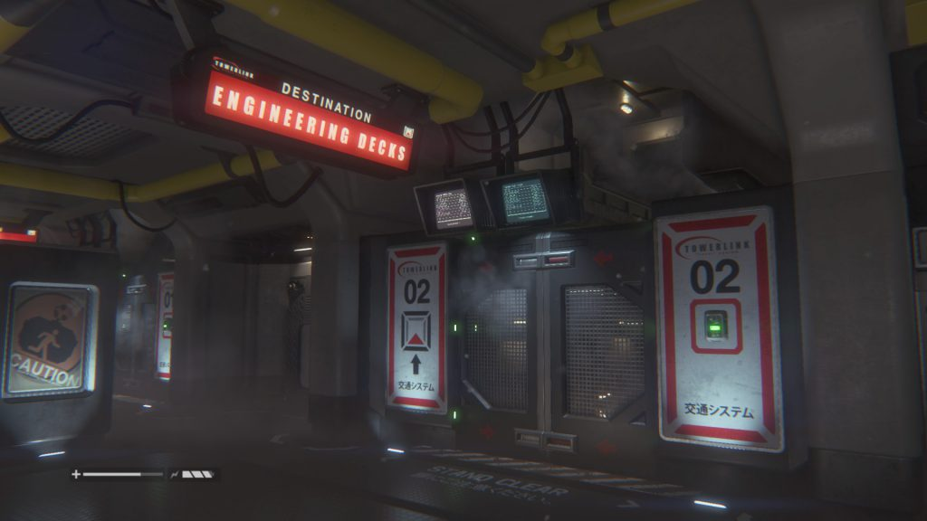 Alien: Isolation - Towerlink