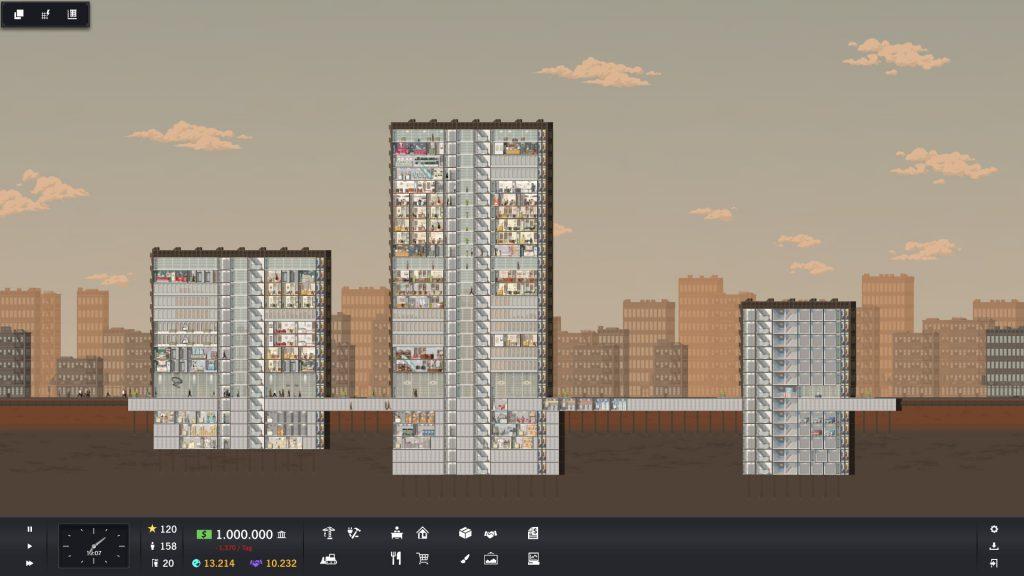 Project Highrise - Drei Türme