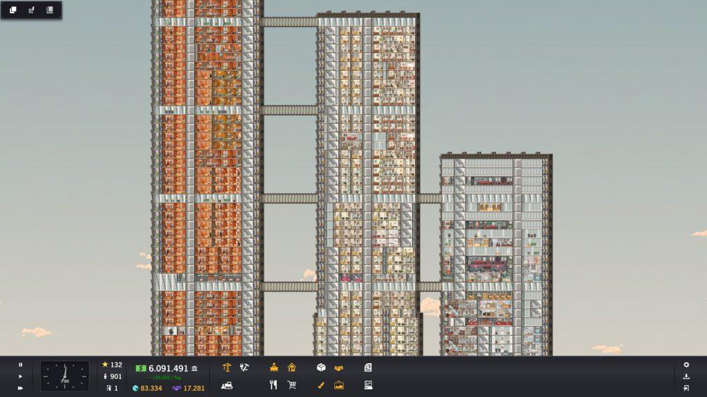 Project Highrise - Drei Türme 2
