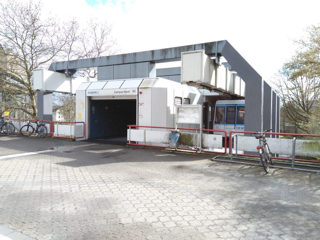 H-Bahn Dortmund - Station Campus Nord
