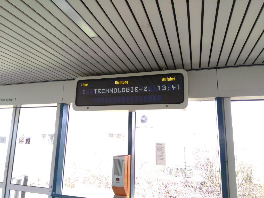 H-Bahn Dortmund - Innenraum
