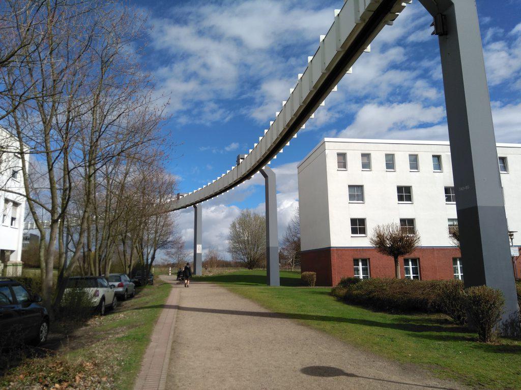 H-Bahn Dortmund - Fahrweg