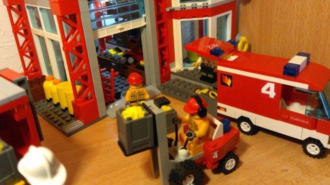 Noppenstein Feuerwehr Logistik