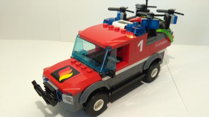 Noppenstein Drohnen Basis Fahrzeug (DBF)